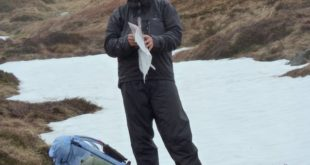 Map Check enroute to Lochnagar, Scotland 2010