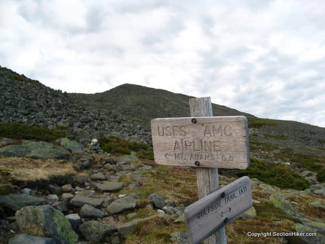 Gulfside Trail, Northern Presidentials, The White Mountains
