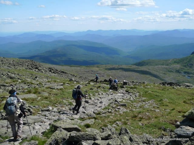 Hiking the Southern Presidentials