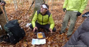 Andrew Skurka Teaches Map and Compass NavigationAndrew Skurka Teaches Map and Compass Navigation