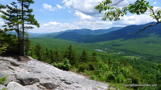 Views of Mount Moriah, The Carters, and Pine Mountain from Lookout Ledge