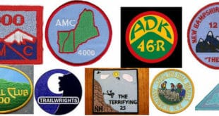 Northeast Peakbagging List Patches