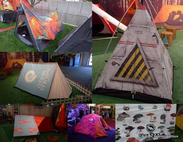 The North Face, Big Agnes, Freecountry dress up tent walls with loud colors and prints