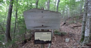 The Sandwich Range Wilderness of one of the most remote Wilderness Areas in the White Mountains