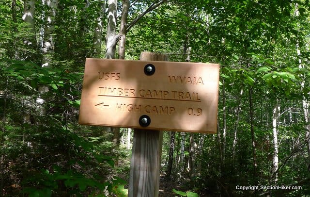 Timber Camp Trail Sign