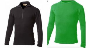 Minus33 Isolation Mid-weight 1/4 Zip and the Ticonderoga Lightweight Crew