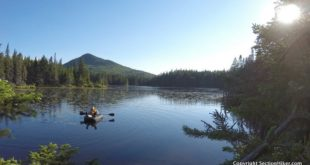 Packrafting on Unknown Pond