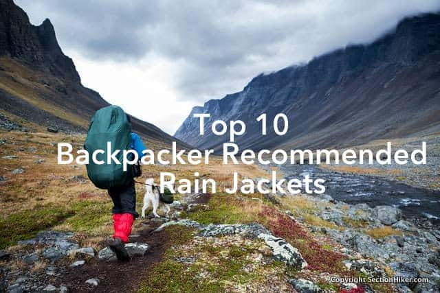 Top 10 Backpacker Recommended Rain Jackets
