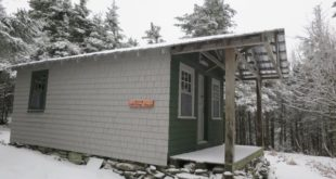 Fire Warden's Cabin on Smarts Mountain, NH