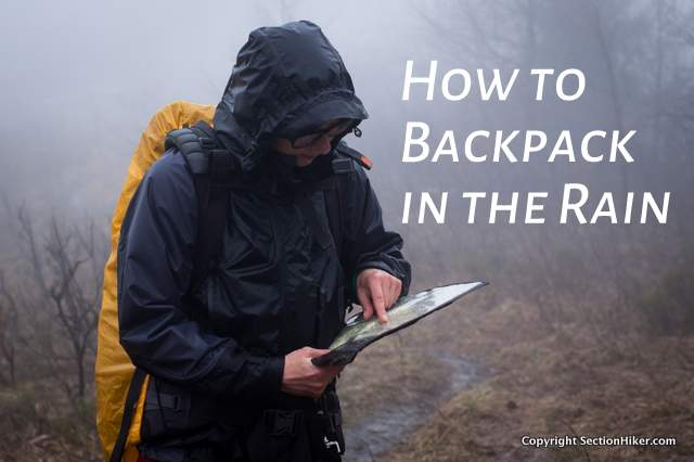 How to Backpack in the Rain