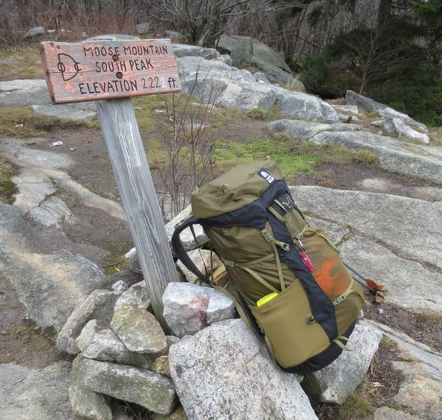 Granite Gear Crown 2 60L Backpack on the New Hampshire Appalachian Trail