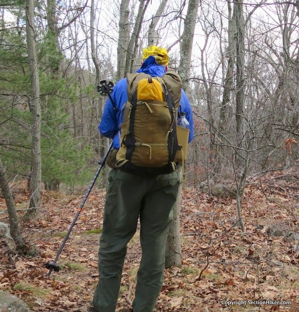 Granite Gear Crown 2 Backpack - Long Stretch Mesh Back Pocket is perfect for storing a tent or wet items