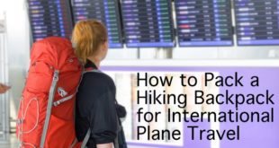 International Backpacking Plane Travel