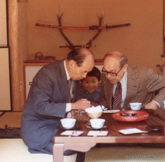 Learning to eat Sushi in Japan, 1985