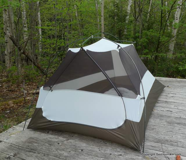 MSR Nook - Inner Tent & MSR Nook 2 Person Tent - Section Hikers Backpacking Blog