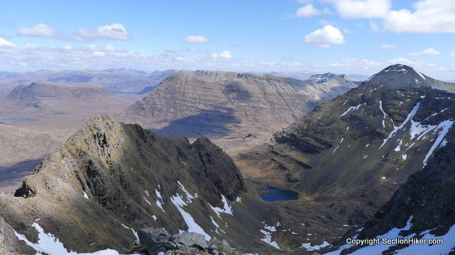 Foreground- Two of Liathach's Tops, Torridon
