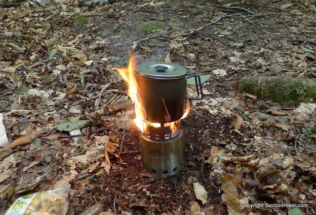 Solo Stove and Evernew Pot