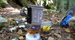 Cooking Dinner on the Jetboil Sol Ti