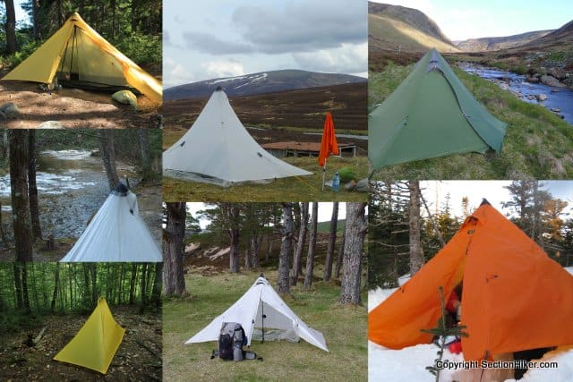Ultralight Backpacking Tent and Shelter Guide - Section Hikers Backpacking Blog & Ultralight Backpacking Tent and Shelter Guide - Section Hikers ...