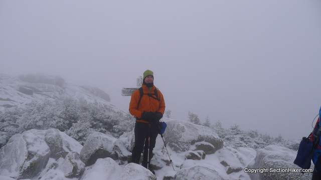 Mike on the Summit of South Twin