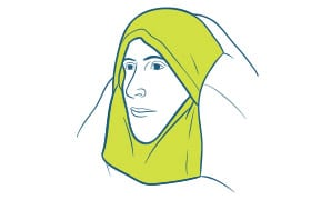 An innovation to traditional quilt design, the integrated hood helps insulate your head on a cold night. It naturally stays sealed and draft-free when not in use
