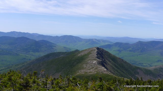 Bondcliff Mountain, seen from the Mount Bond summit