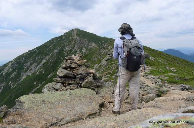Mighty Mt Lincoln on the Franconai Ridge Trail