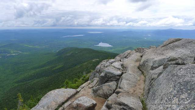 Looking Southeast to the Lake District from Mt Chocorua