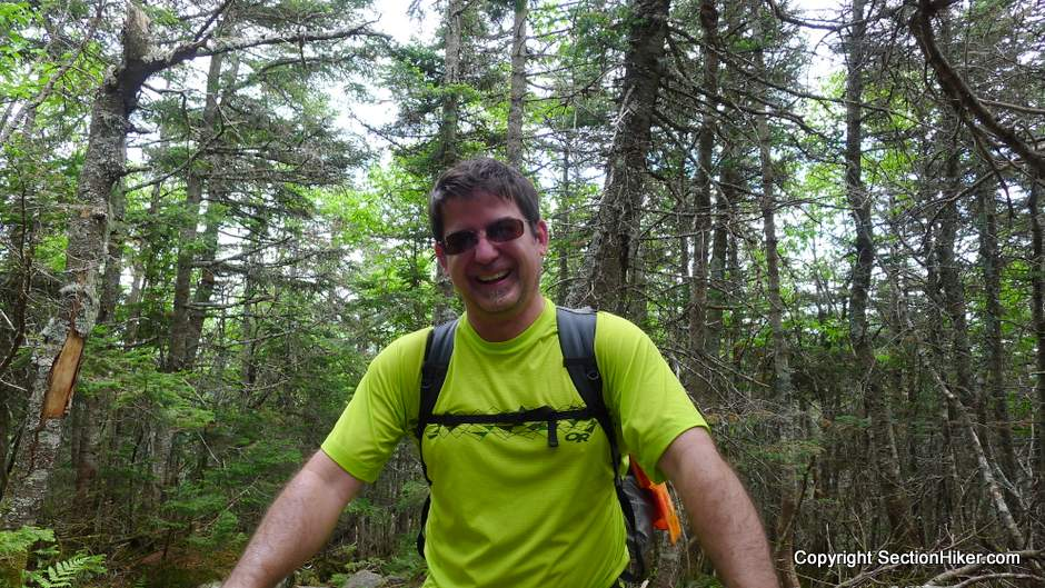 Monty on the Franconia Ridge Trail - I invariably run into Monty once a year on a big hike. yeah, he's wearing a Gossamer Gear Murmur Backpack