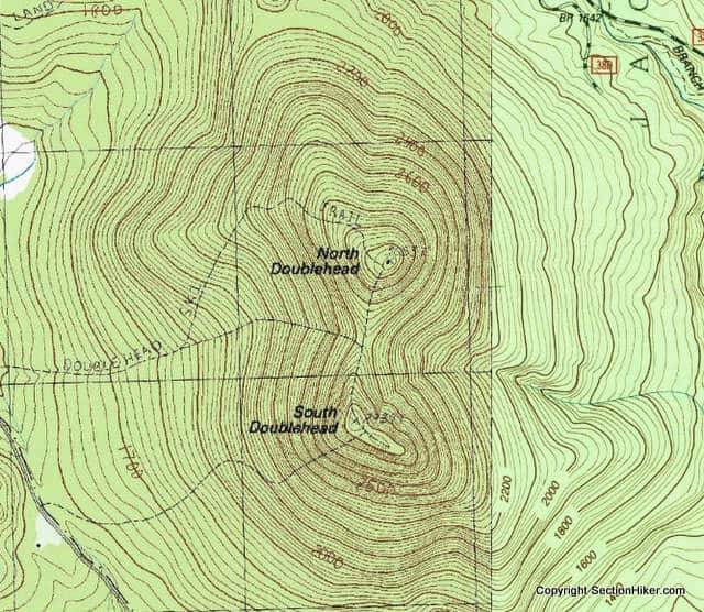 Navigating Without A Compass Section Hikers Backpacking Blog - Mt katahdin trail map