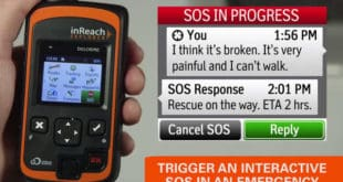 Two-way communication with Search and Rescue