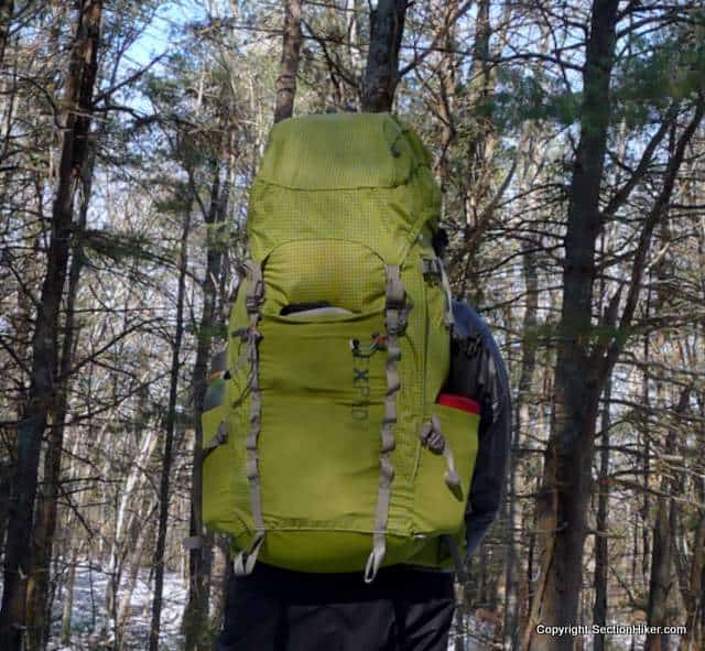 Exped Thunder 70 Adjustable Frame Backpack