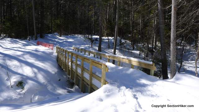 Newly constructed replacement bridge