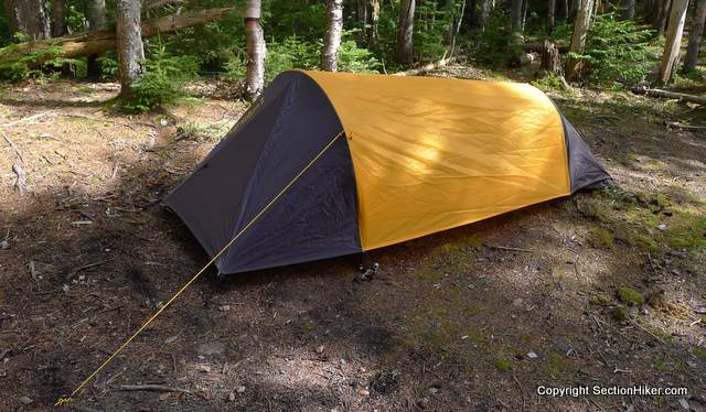 The Eureka Solitaire is a bivy style tent erected with two arched poles. : inexpensive tents - memphite.com