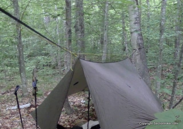 hanging out in a warbon  blackbird hammock review of warbon  blackbird double layer hammock w  superfly      rh   sectionhiker