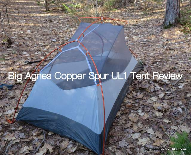 The Big Agnes Copper Spur UL1 has plenty of internal space for a one person tent with vertical side walls that improve livability