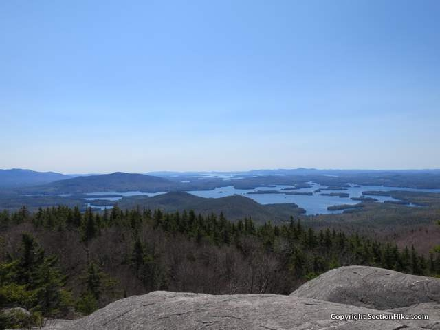Squam Lake from Mt Morgan