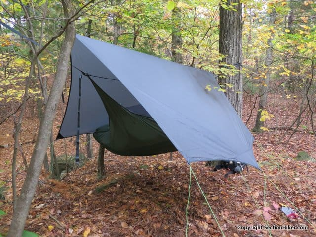 The Tarp 3.0 is a catenary cut tarp designed for use with the Draumr 3.0 hammock.