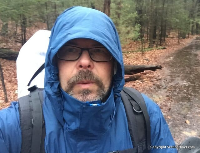 The Marmot Precip is the most popular backpacking rain jacket today