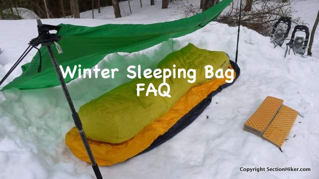 Winter Sleeping Bag FAQ