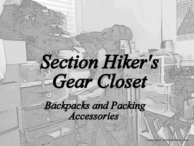 Gear Closet Backpacks and Packing Accessories