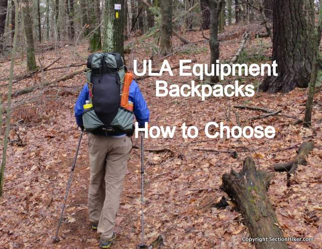 ULA Ultralight Backpacks - How to Choose