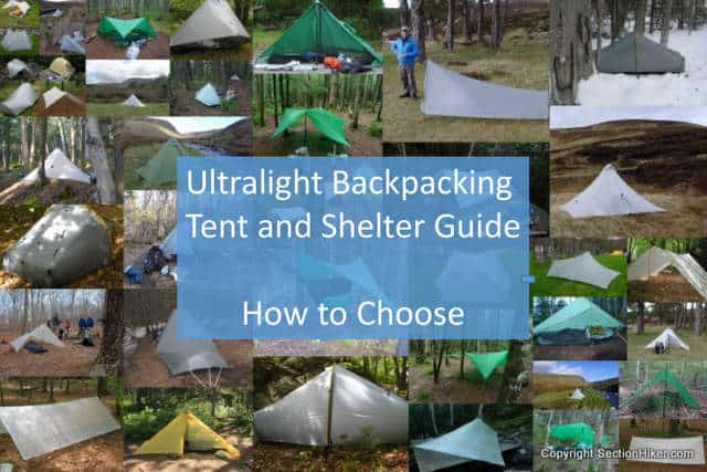 Ultralight tent and Shelter Guide How to choose