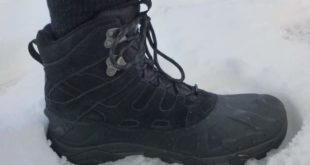 The Merrill Moab Polar Insulated Winter Hiking Boot has 400g of insulation and is rated down to 20 below.