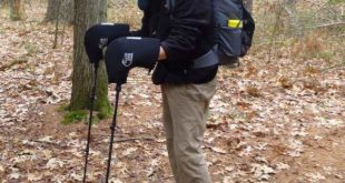 Bar Mitts can be used as cold weather pogies for regular trekking poles in cold weather