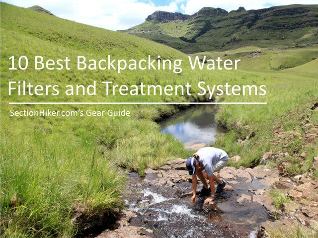 10 Best Backpacking Water Filters of 2018