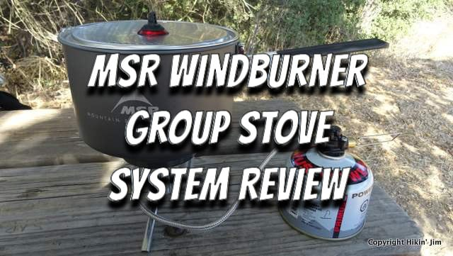 MSR Windburner Group Stove Review