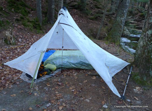 You can use a pyramid like you would any single wall tarp with a UL & Ultralight Backpacking Pyramid Tent and Tarp Primer - Section ...