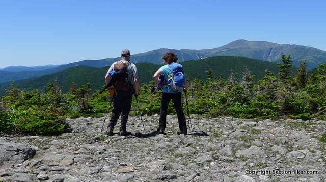 Great View of Mt Washington from the Rainbow Trail