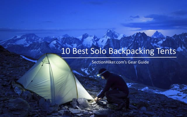 10 Best One-Person Backpacking Tents